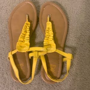 Yellow Shiekh Sandals